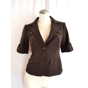 The Limited Size XS Brown Blazer Jacket